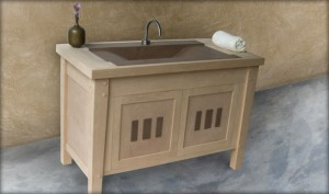 arts and craft bathroom cabinets craftsmanship