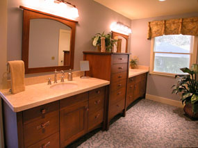 arts and craft mission bathroom vanities