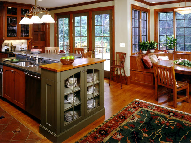 Arts and Crafts style kitchen Cabinets