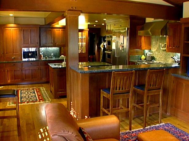 Arts and Crafts Format kitchen Design