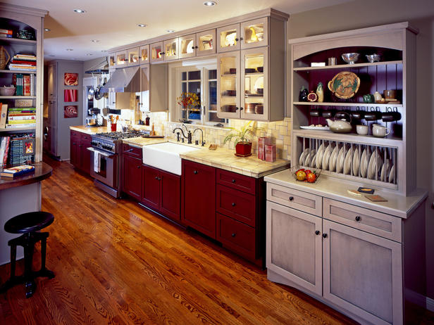 Arts and Crafts Type kitchen Design