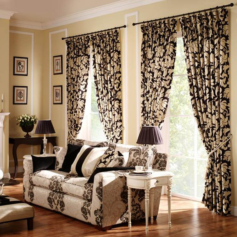Curtain Ideas For Your Living Room1 Curtain Ideas For Your Living Room