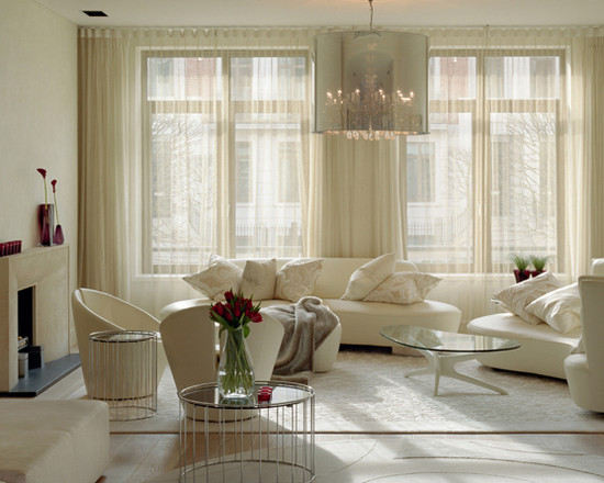Curtain Ideas for Living Room Modern