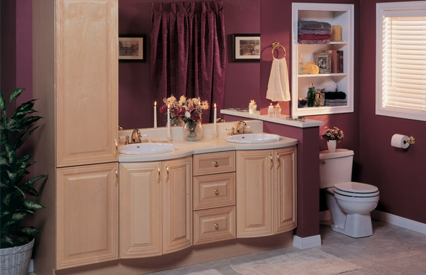 Semi-Custom Bathroom Cabinets