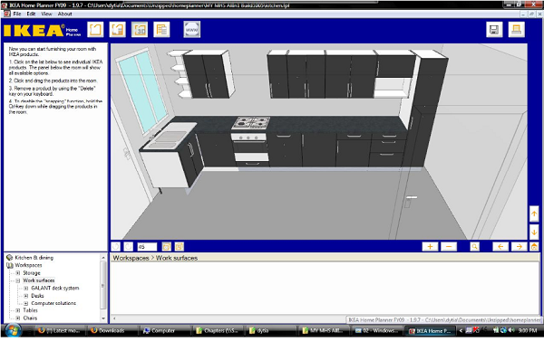 Design my kitchen layout porentreospingosdechuva for Design my kitchen