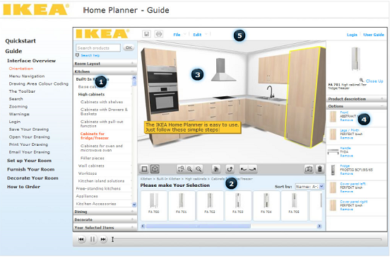Design My Own Kitchen Layout Online Free