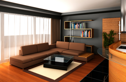 Living Room Decorating Ideas Chocolate Couch home design tips & decoration ideas