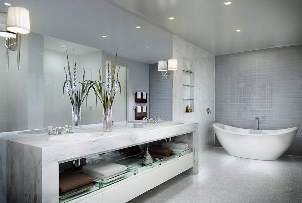 Gorgeous Modern Bathroom Design4 How to Make a Gorgeous Modern Bathroom Design