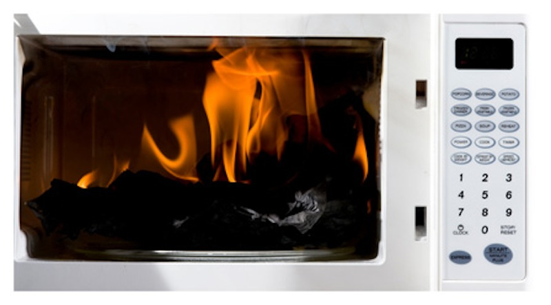 How to Put Out Kitchen Fires