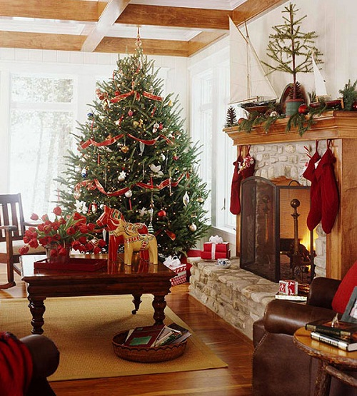 Old-Fashioned Christmas Tree Pictures