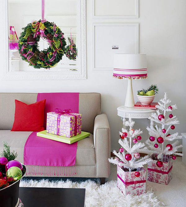 Elegant Homes Decorated for Christmas