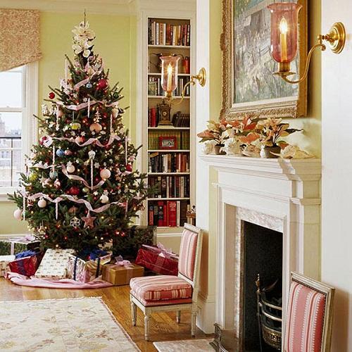 Lighted Christmas Window Decorations