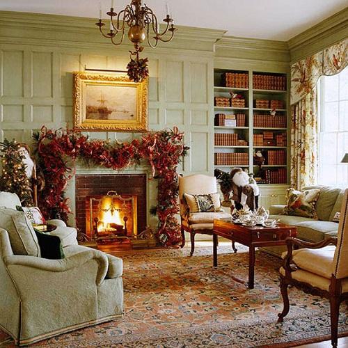 Homemade Country Christmas Decorating Ideas
