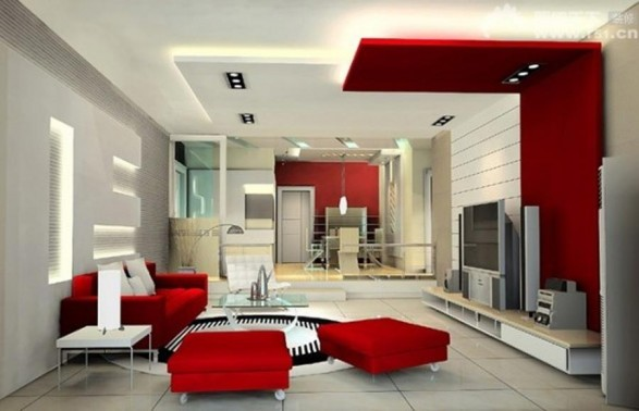 Remarkable Red Living Room Design Ideas 587 x 378 · 44 kB · jpeg