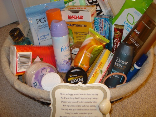 Ladies Room Basket for Wedding