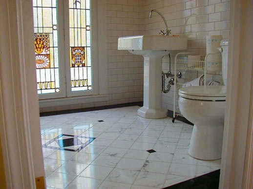 Bathroom Ceramic Tile Floor