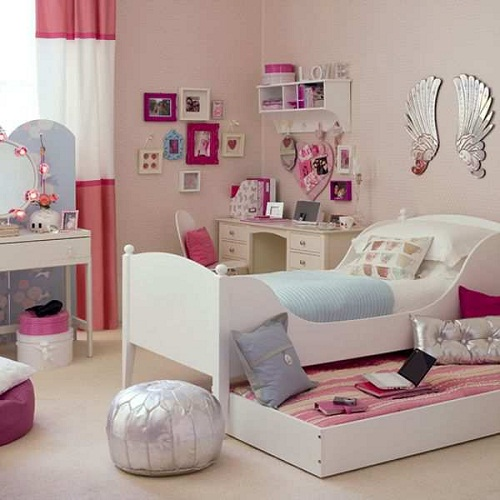 Cute Girls Bed Room Furniture