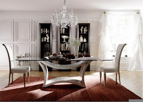 Glass Dining Room Tables Glass Dining Room Tables