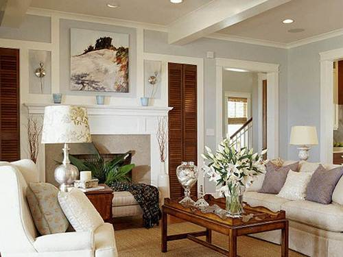 Warm living room colors country home design ideas for Warm grey living room ideas