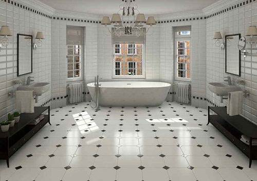 bathroom floor tile ideas for small bathrooms