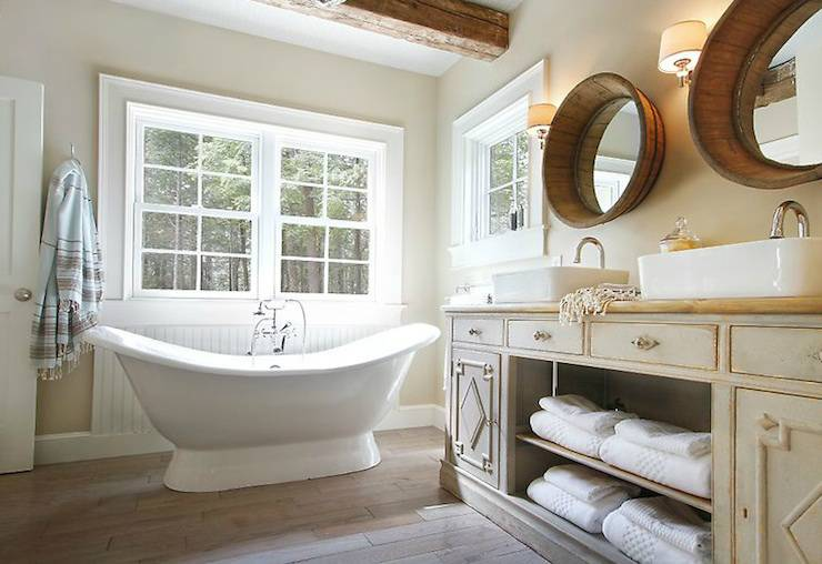 Cottage Bathrooms For Pinterest