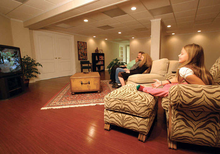 Best Flooring for Basement Family Room
