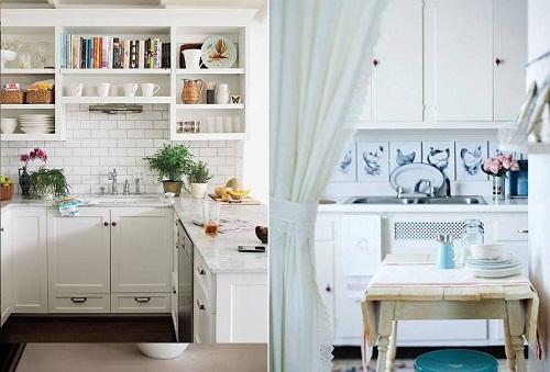 Kitchen Backsplash for White Cabinets