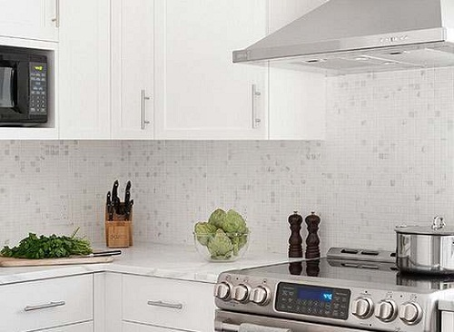 backsplash ideas for white cabinets kitchen tile backsplash ideas