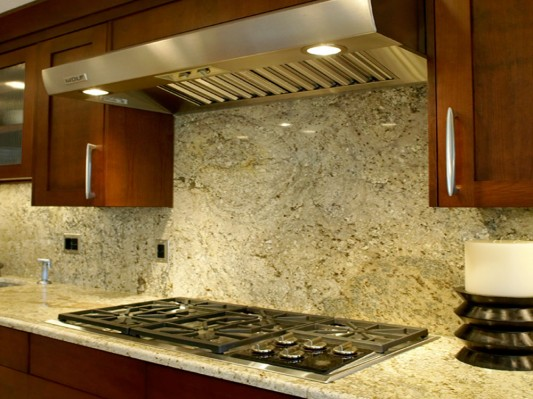 Backsplash Options With Granite Kitchen Granite Backsplash Ideas