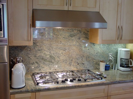Kitchen Granite Backsplash Designs