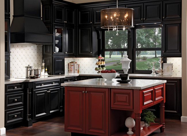 Kraftmaid Laminate Kitchen Cabinets