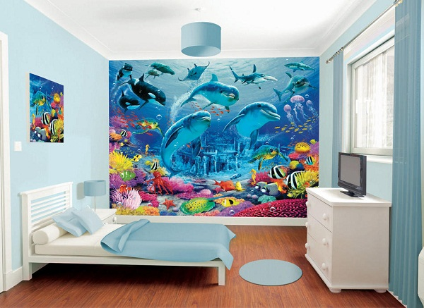 beach themed teen bedrooms - Themed Teenage Bedrooms