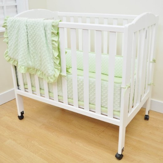 Mini Crib Bedding Sets Neutral