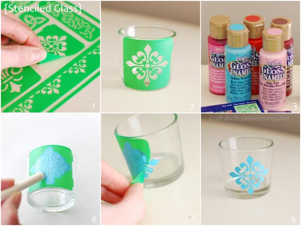 Make Your Own Glass Etching Stencils