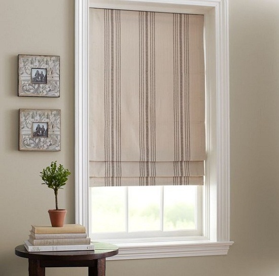 Cordless Roman Shades Fabric