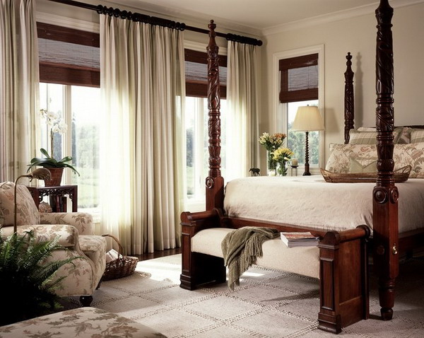 Curtain Window Treatments for Bay Windows