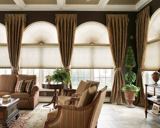 Ideas for Arched Window Treatments