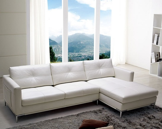 Slim Sectional Sofas for Small Living Room