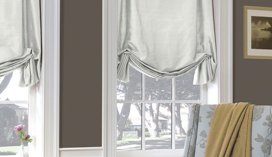 Tulip Roman Shade Blackout Roman Shades