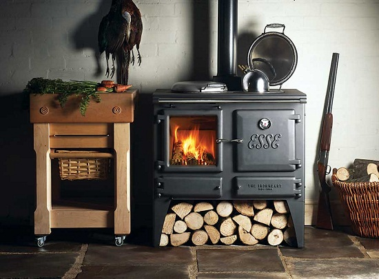 Wood Cook Stove Heating