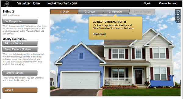 Exterior House Paint Simulator Home Design Tips