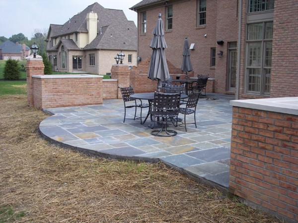 Brick Paver Patio Designs Photos