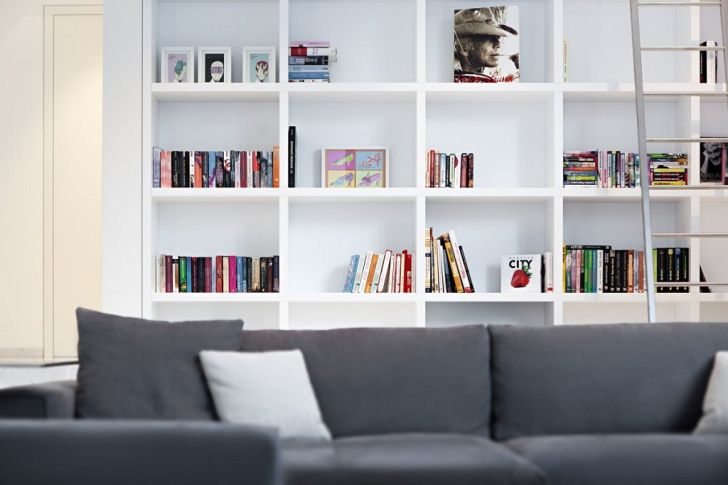 Bookcase Design Ideas White
