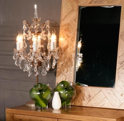 Chandelier Table Lamp