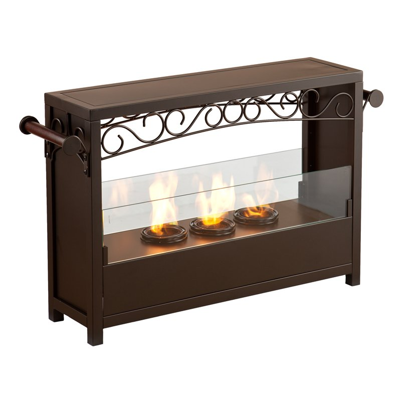 Gel Fireplace Designs with 3 Fuel