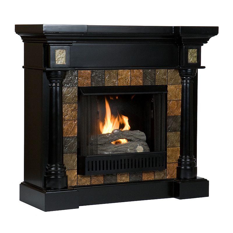 Gel Fireplace Designs Black