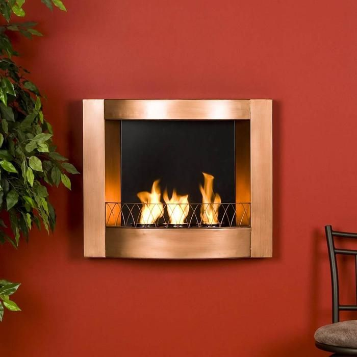 Gel Fireplace Designs Wall