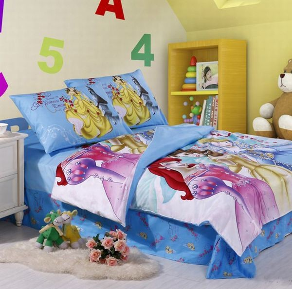 Girls Princess Bedroom