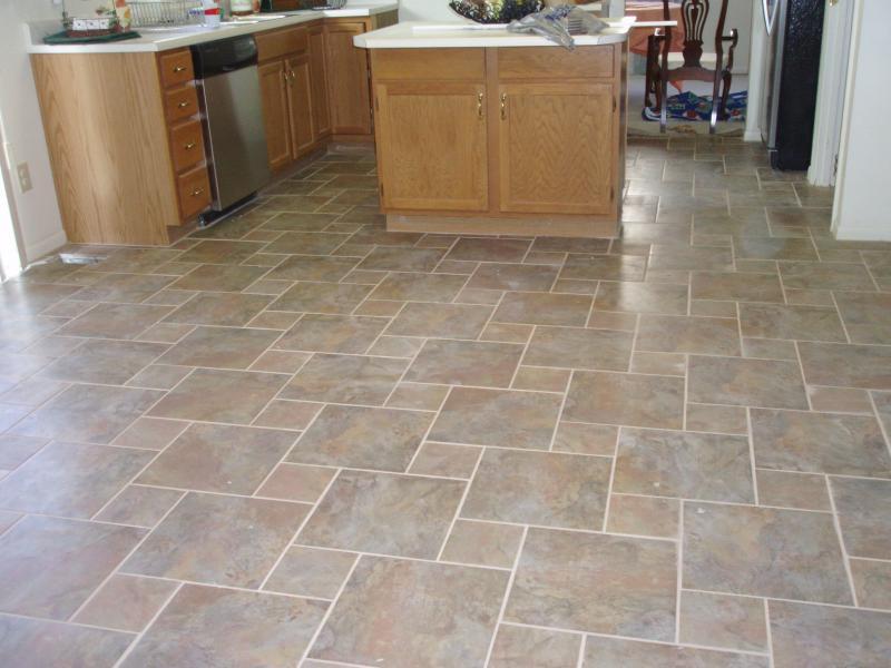 Beautiful Floor Tile Ideas For Kitchen Part - 12: Kitchen Tile Flooring
