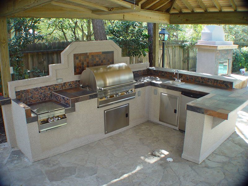 Outdoor Kitchen Design ideas backyard